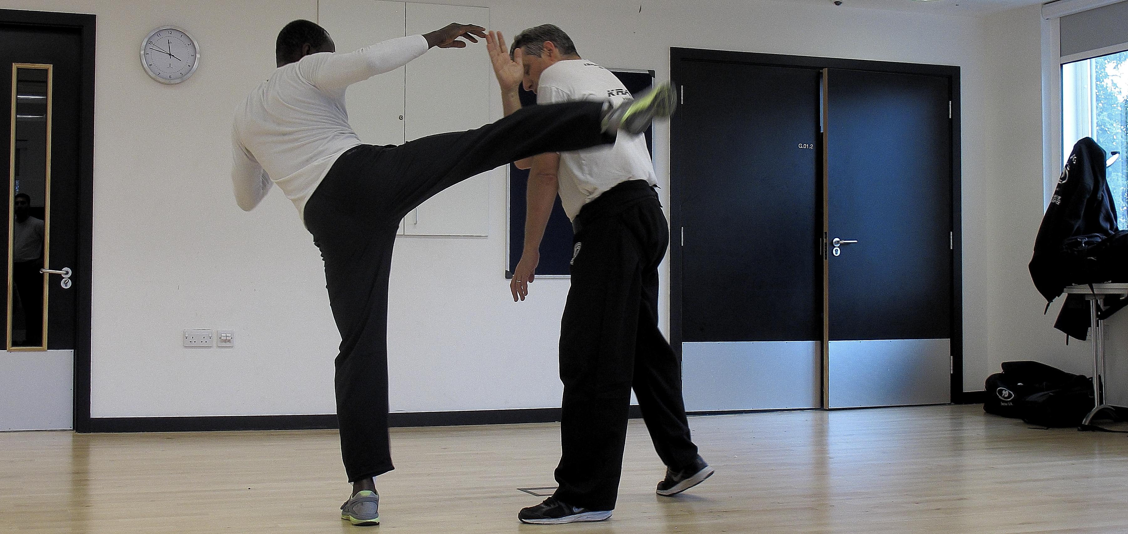 Krav maga training south london with Eitan