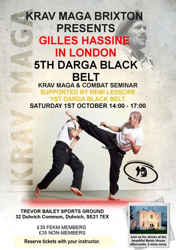 Krav maga self defense classes london