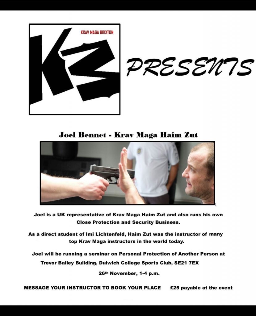 krav-maga-brixton-seminar-on-protection-of-another-person